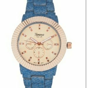 Accessories - Denim bracelet watch